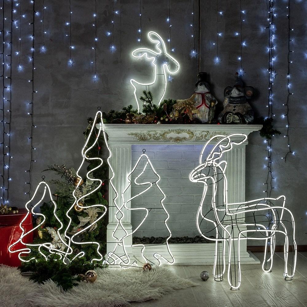 Светодиодные новогодние фигуры - фото 59982