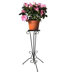 Подставка для цветка напольная кованая
