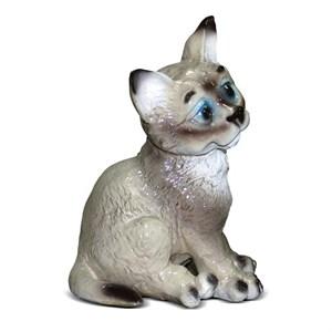 Садовая фигурка котенка