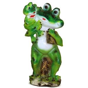 Фигурка для сада лягушка F07794
