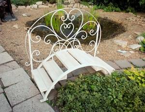 Садовый мостик фото