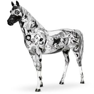 Рекламная фигура коня