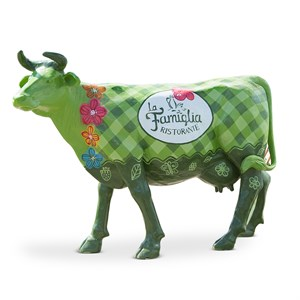 Корова фигура садовая