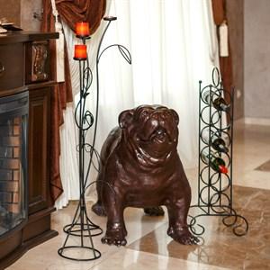 Фигура собаки Бульдог