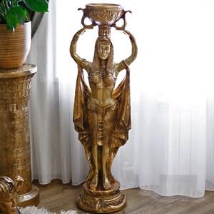 Фигура из полистоуна Египтянка