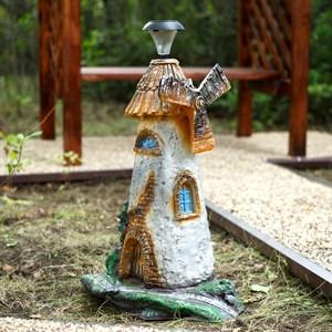 Светильник мельница для дачи