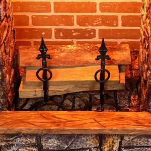 Держатели для дров кованые