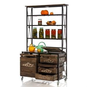 Деревянный ящик для хранения 895-31
