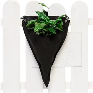 Кашпо для цветов из спанбонда