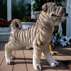 Садовая фигура собака