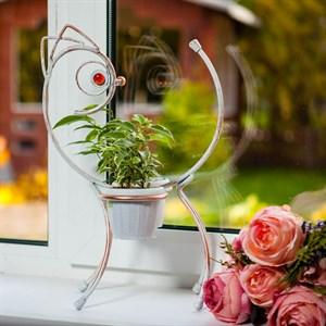 Подоконная цветочница