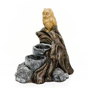Садовая фигура Сова на дереве