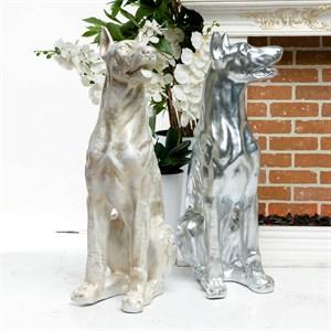 Скульптура Доберман