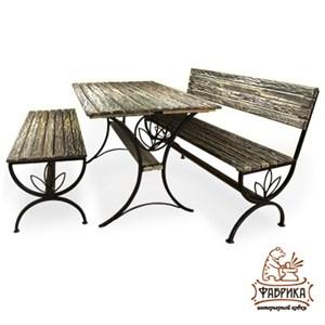 Набор деревянной мебели для сада