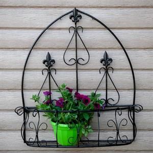 Подставка для цветов на стену