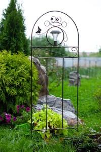 Садовая шпалера из металла