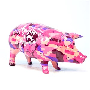 свинка из пластика
