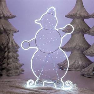 Светящаяся фигура снеговик