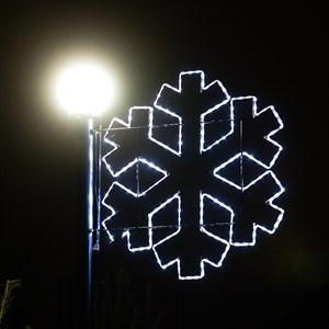 Светодиодная консоль Снежинка