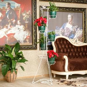 Кованая подставка для цветов 14-109-WG