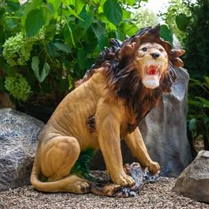 Фигура садовая Лев