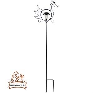 Шпалера для растений Утка с фонарем