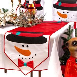 Салфетка на стол новогодняя