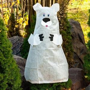 Декоративный колпак для растений Белый Медведь