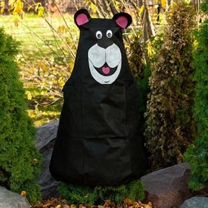 Мишка зимнее укрытие