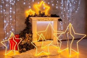 Светящиеся фигуры новогодние