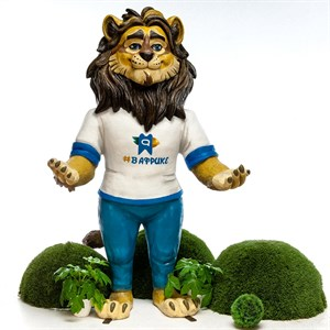 Объемная фигура Лев