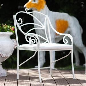 Кованое кресло для дачи