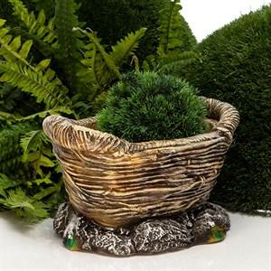 Кашпо садовое Корзинка
