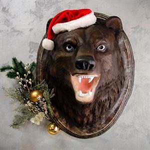 Декоративное панно Голова Медведя