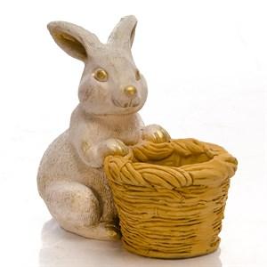 Кашпо для цветов Кролик