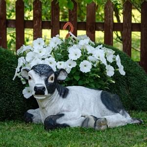 Фигура садовая теленок