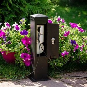 Розетка садовая 54-708