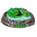 Крышка люка Лягушки в пруду - фото 11819