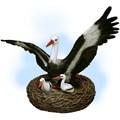 Гнездо с аистами цена 10200 руб.