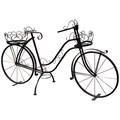 Цветочный велосипед для сада