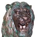 Фигура Льва для парка