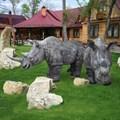 Садовая фигура Носорог - фото 13668