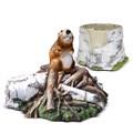 Комплект садовых фигур Бобер - фото 14074