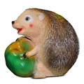 Фигурка из полистоуна Еж с яблоком - фото 14148