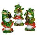 Декоративные фигурки лягушек