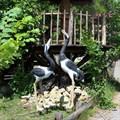 Садовая скульптура Журавль - фото 14506