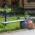Скамейка уличная еж