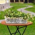 Кашпо для цветов с покраской под мрамор - фото 15097