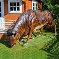 Садовая фигура бык за 31500 руб.