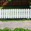 Садовый забор из дерева